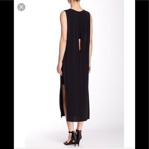 Helmut Lang. Back Slit Amazing Maxi Dress